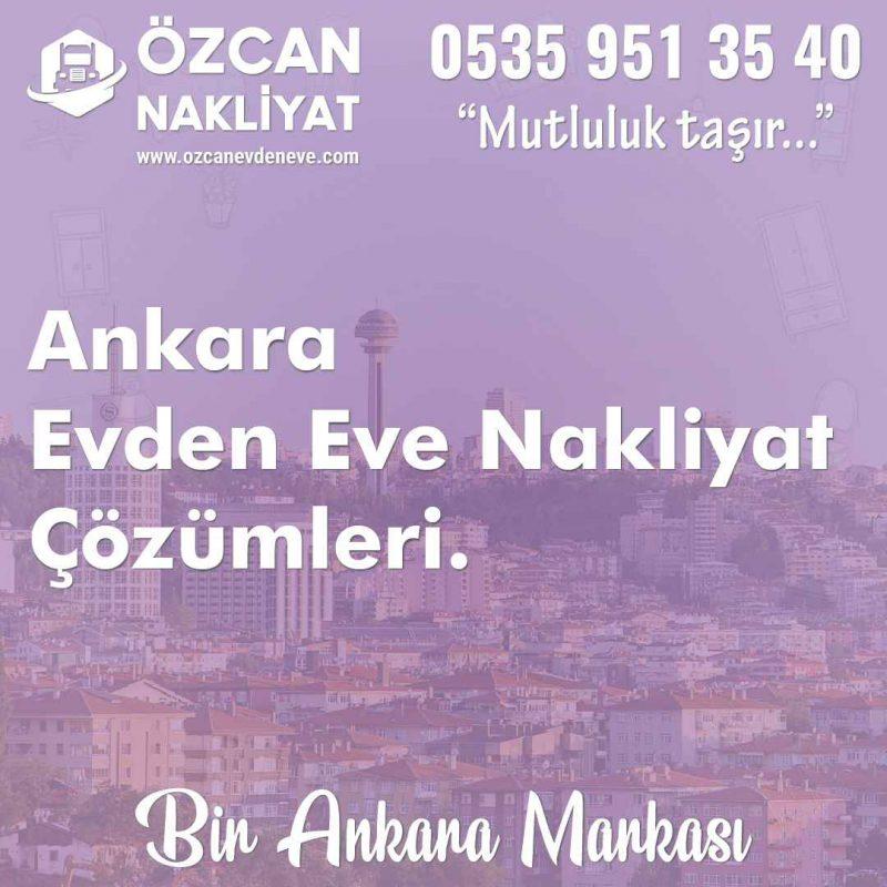 Ankara Evden Eve Nakliyat