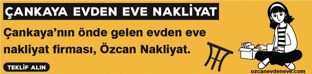 Ankara Çankaya Evden Eve Nakliyat