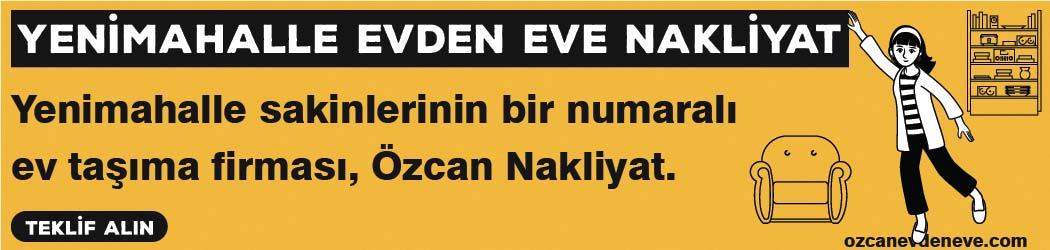 Ankara Yenimahalle Evden Eve Nakliyat